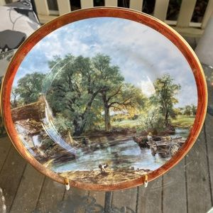 VINTAGE Collector Plate from 70s